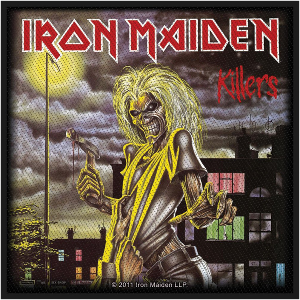 Iron Maiden Killers Toppa Grindstore 4337029811