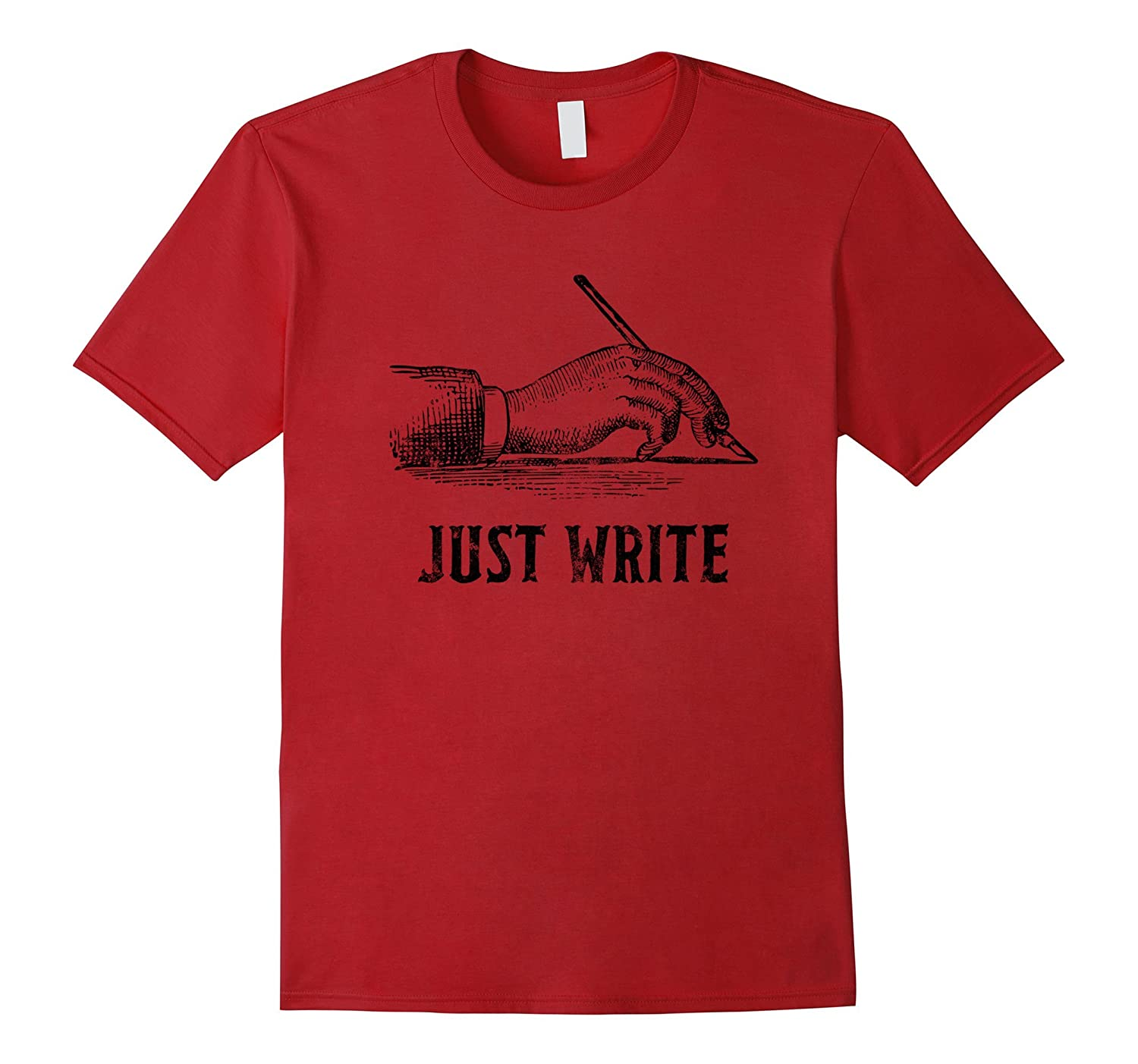Writer Just Write T Shirt Gifts Tee Author Journalist-TJ