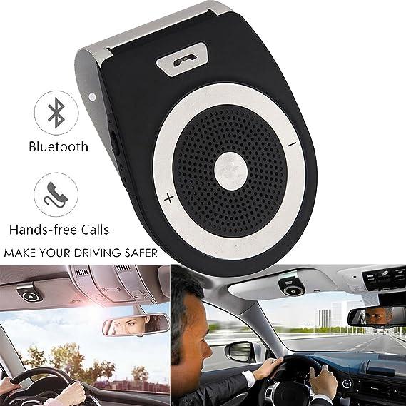 NEW Universal Sun Visor Bluetooth In Car Speakerphone CarKit