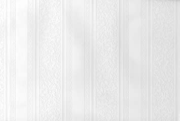 Striped Design Beadboard Paintable Wallpaper