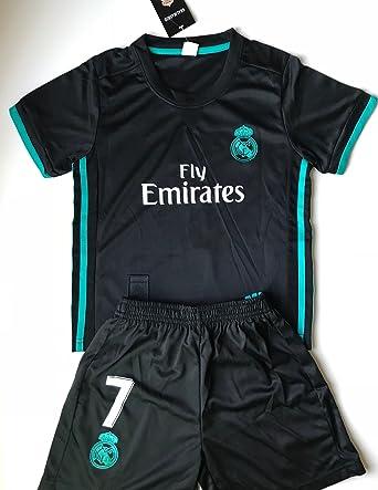 Amazon.com  New  7 Ronaldo 2017 2018 Real Madrid Away Jersey . 7f38226ff