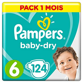Couches Pampers Taille 6