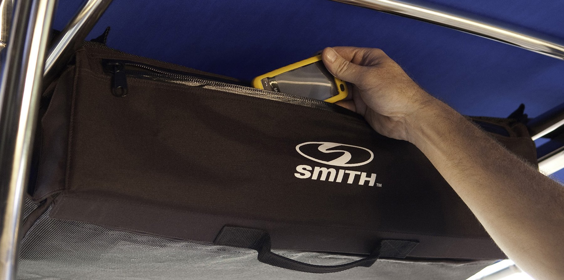 CE Smith T-Top Storage Bag for Life Vests & Other Boating Essentials-Boating and Fishing Accessories by CE Smith