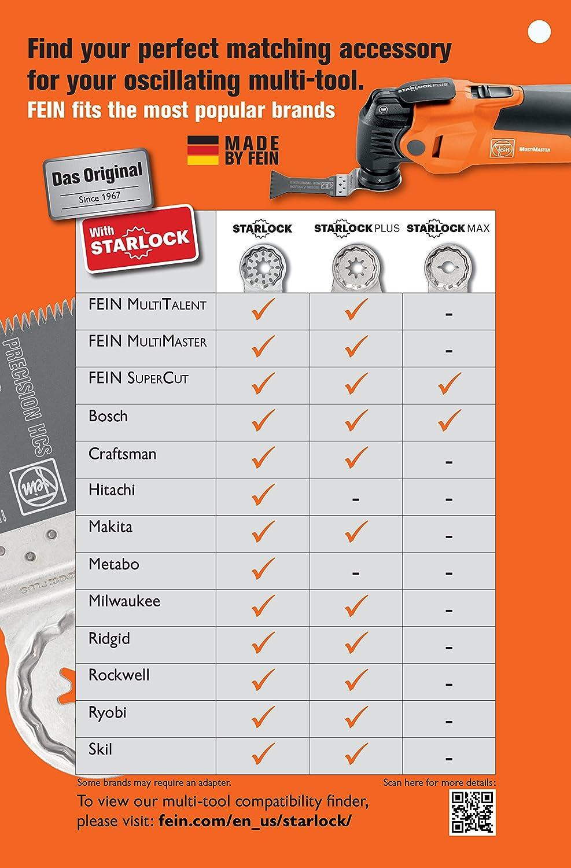 Fein 63502152290 Universal Oscillating Blade (10 Pack), 4 x 2-3/8