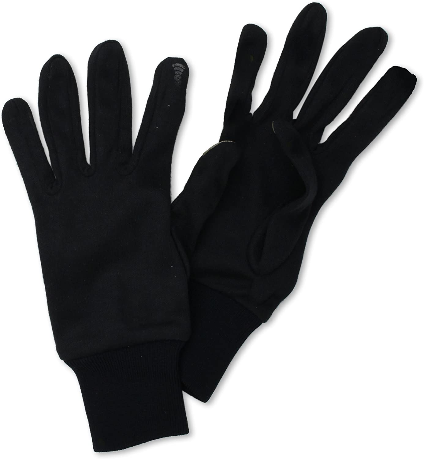 Seirus Innovation Mens Deluxe Thermax Liners,Large//X-Large,Black
