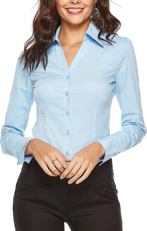 Yeokou Women's Basic Sleeveless Button Crew Neck Baggy Pleated Tunic Tank Top Shirts