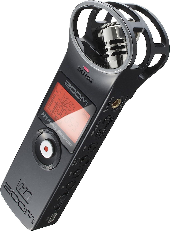 Amazon Com Zoom Zh1 H1 Handy Portable Digital Recorder Black
