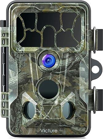 1080p Wildkamera f/ür Tierbeobachtung /Überwachung der Sicherheit im Haus free size Camouflage 32 GB Trail-Kamera wasserdichte Jagdkamera mit 120 /° Weitwinkel