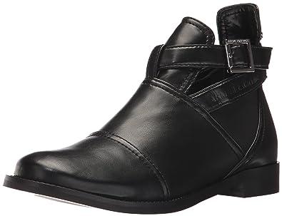 5e08a763de Amazon.com | A|X Armani Exchange Women's Buckle Ankle Boot | Ankle ...