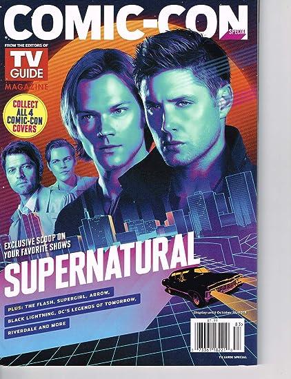 Amazoncom Tv Guide Magazine Comic Con Special October 2018