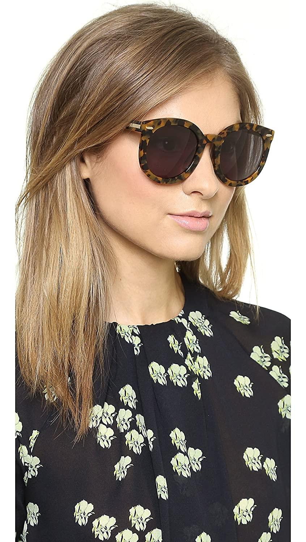 1e1dc51a50c Amazon.com  Karen Walker Women s Super Duper Strength Sunglasses ...