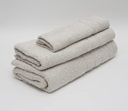 Toalla de rizo venus 50x100cm 100%algodón 450gr/m2 y cenefa de jacquard color