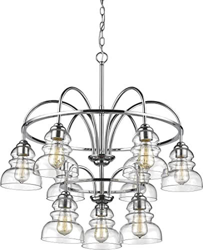 Millennium 7349-CH Nine Light Chandelier