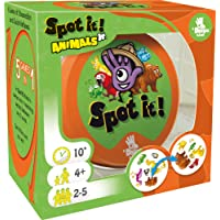 Spot It! Junior Animals Card Game | Game For Kids | Preschool Age 4+ | 2 to 5 Players | Average Playtime 10 minutes…