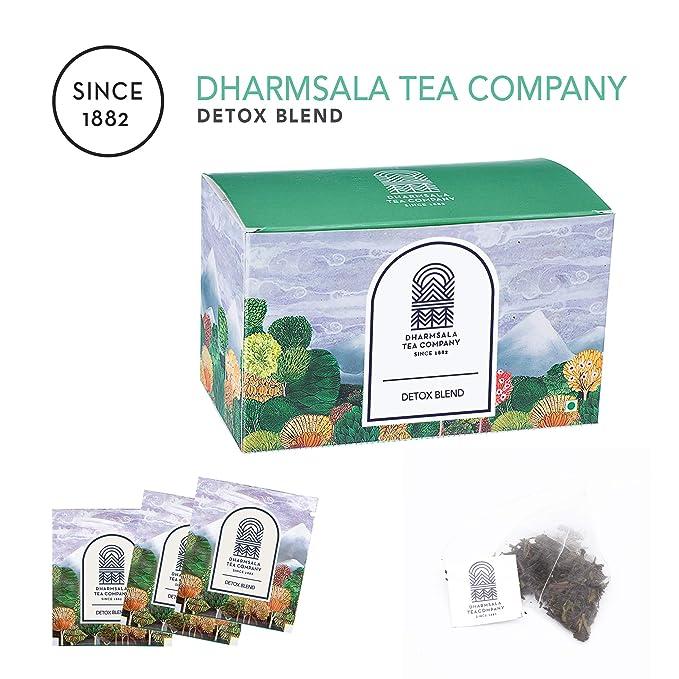 Dharmsala Ayurvedic Detox Blend Teabags, Himalayan Green Loose Leaf