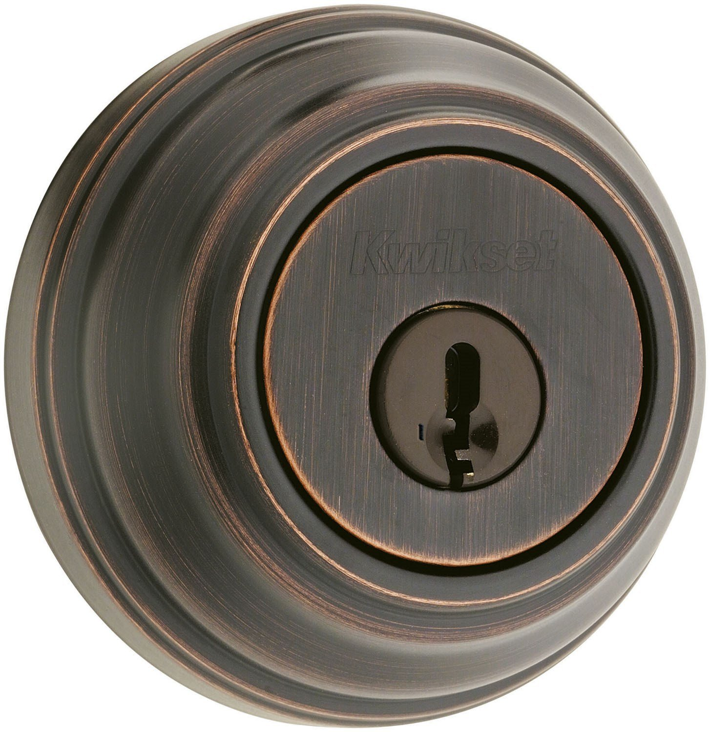 Kwikset Signature Series 99800-089 Venetian Bronze SmartKey™Single Cylinder Deadbolt by Kwikset