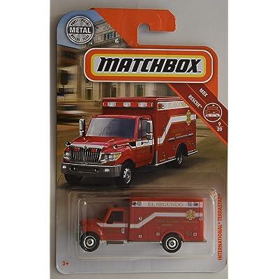 Matchbox Rescue Series International TERRASTAR 9/20, RED: Toys & Games