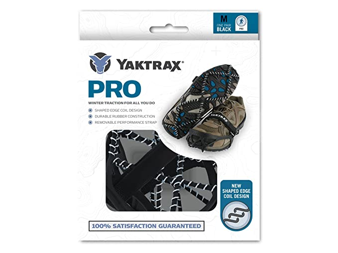 Amazon.com: Yaktrax Pro Grande: Sports & Outdoors