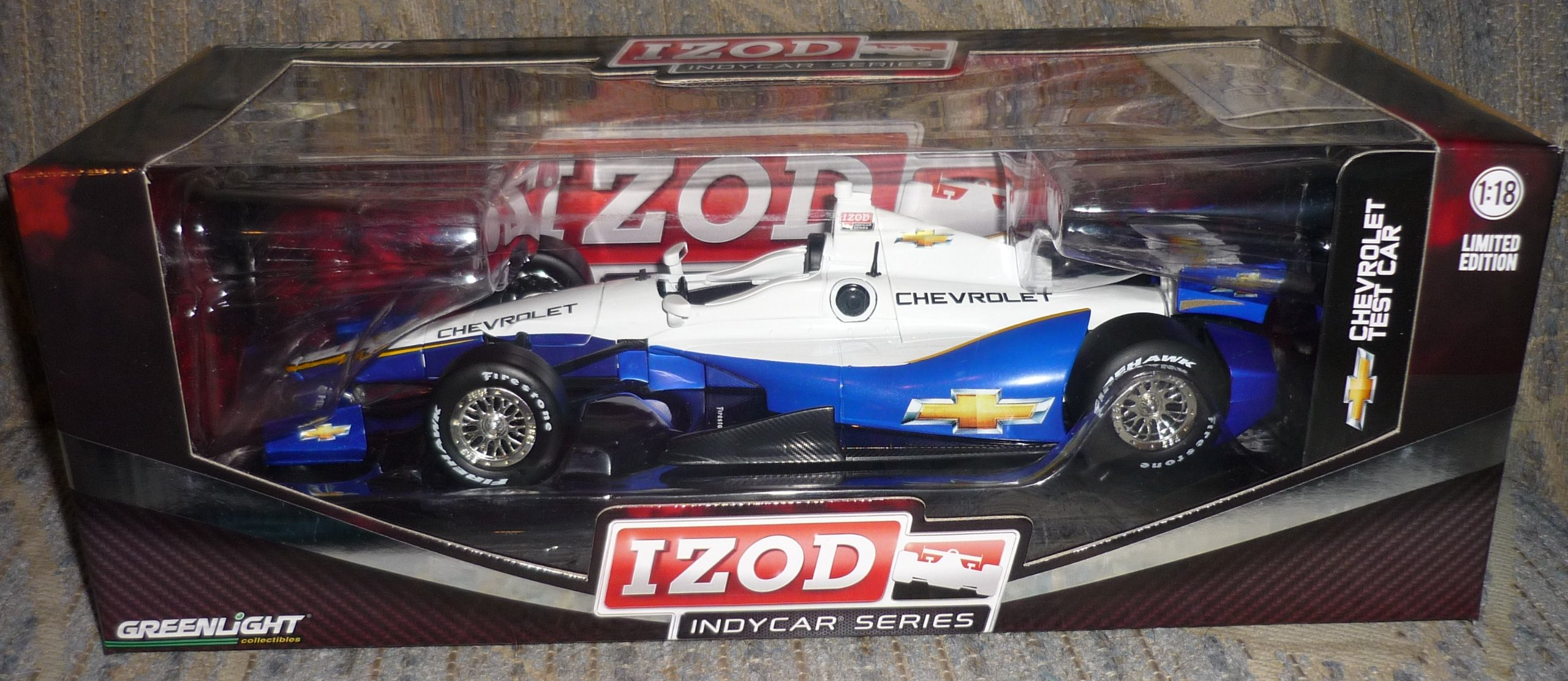 1/18 '12 Indy Car Chevrolet Test by Greenlight 1