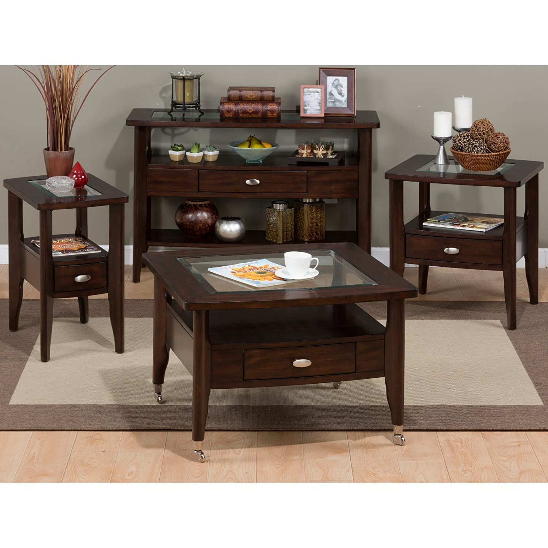 Amazon Jofran Montego Chairside Table Montego Merlot