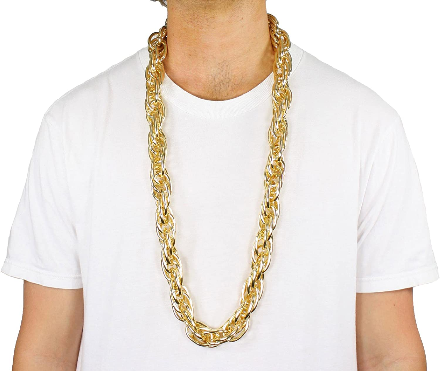 Amazon Com Largemouth 40 Heavy Rope Gold Pimp Chain Old School Rapper Costume Bling Gold Clothing Nsp carrier enf @nsp_carrierenf 9 июл. largemouth 40 heavy rope gold pimp chain old school rapper costume bling gold