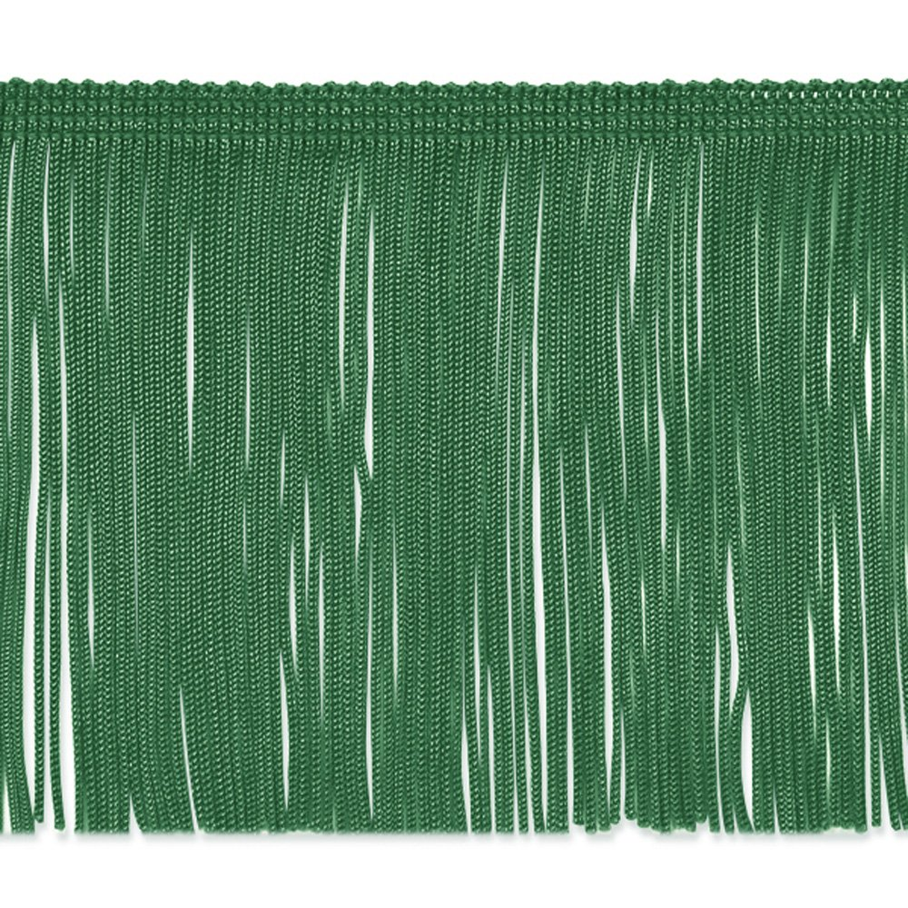 Expo International 4in Chainette Fringe Trim Emerald, Emerald 0309674