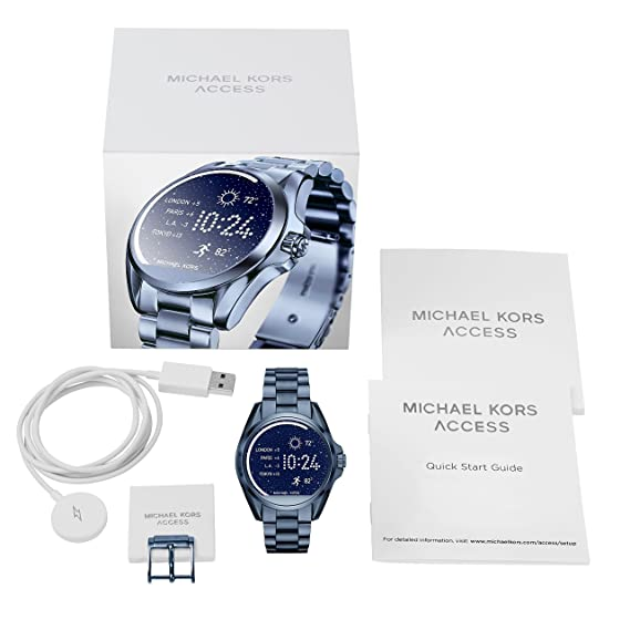 Amazon.com: michael kors acceso mkt5006 Ladies Bradshaw ...