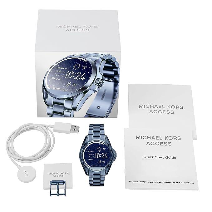 Amazon.com: michael kors acceso mkt5006 Ladies Bradshaw ...