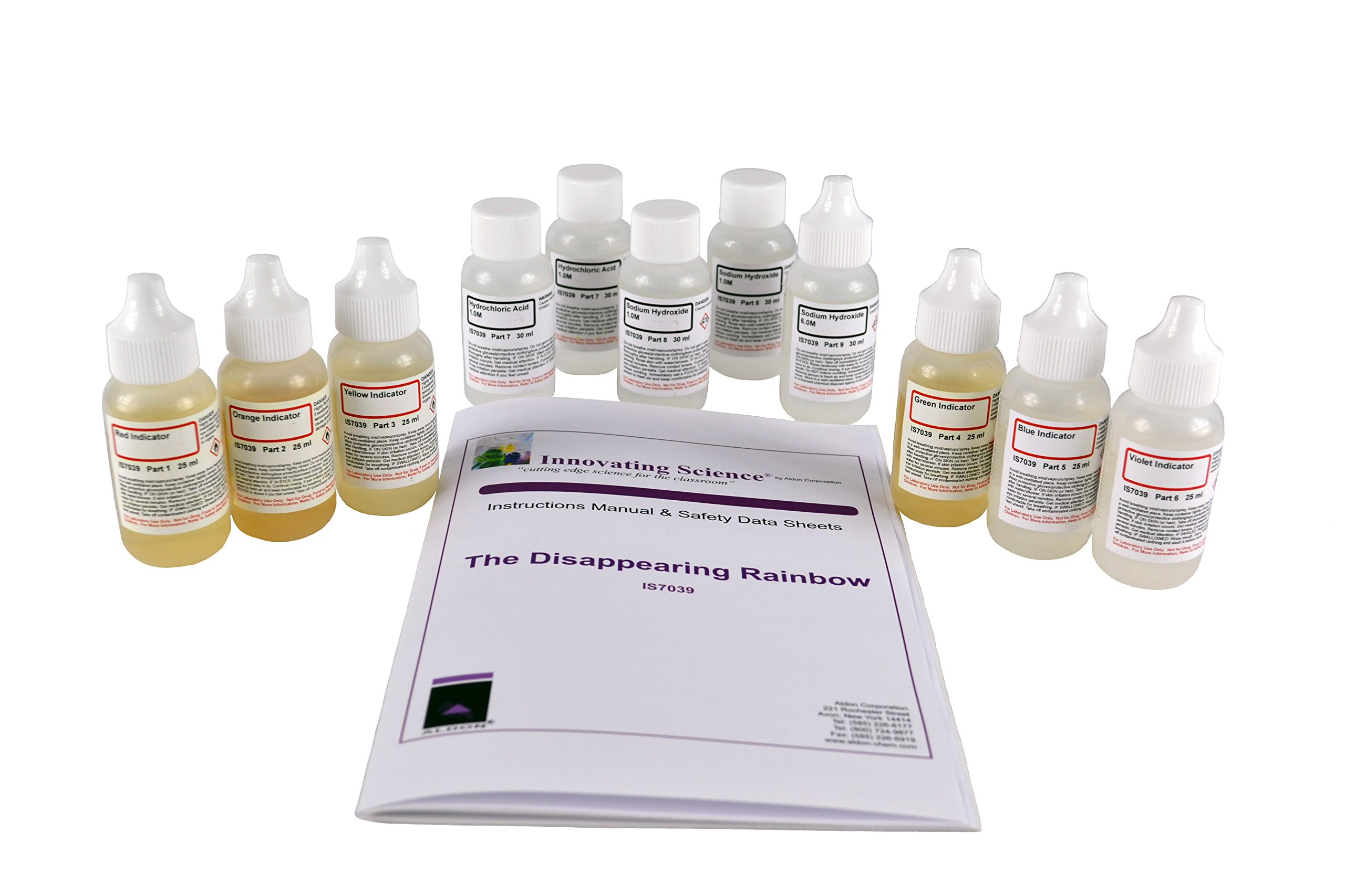 Innovating Science - Disappearing Rainbow Chemistry Demo Kit