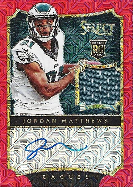 buy popular 824ac 75d3a Amazon.com: JORDAN MATTHEWS 2014 Panini Select Football ...