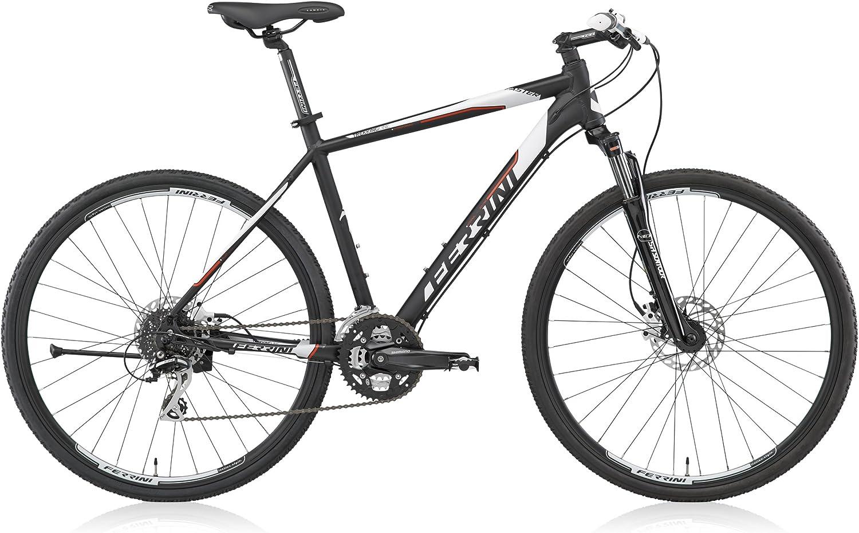 Bicicleta Híbrida Ferrini FASTER de hombre con marco de aluminio ...