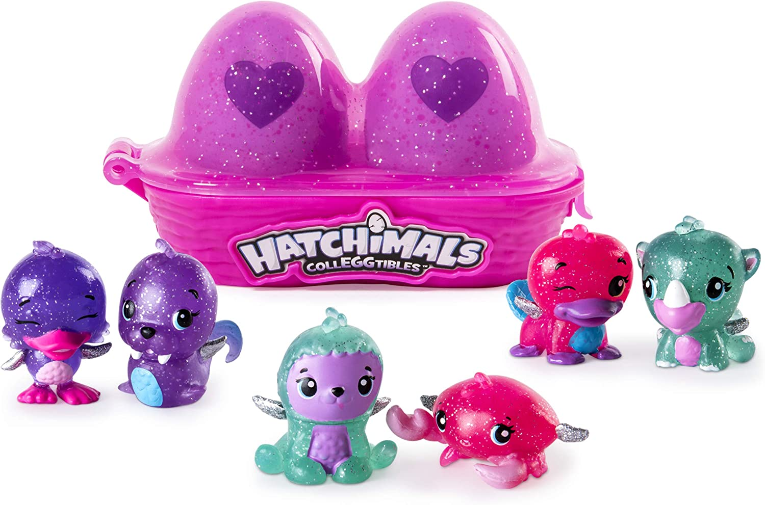 Hatchimals Glittering Garden CollEGGTIbles Series 1 Blind Carton 2 Pack
