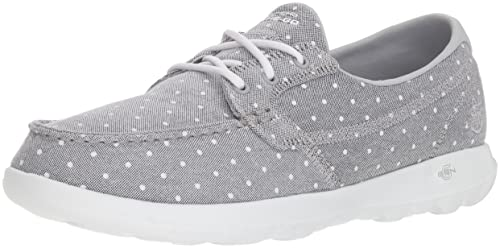 fbef844832b Skechers Go Walk Lite - Soleil Zapatos para Bote para Mujer  Amazon ...
