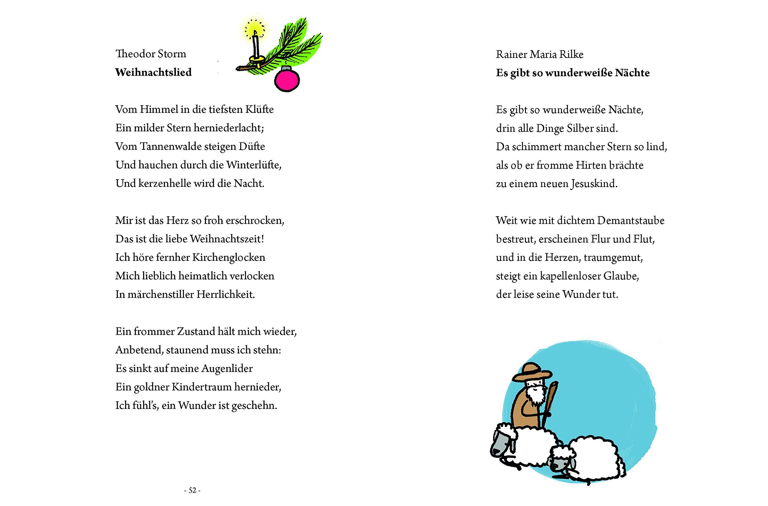 Das große kleine Buch: Weihnachtsgedichte für Kinder: Amazon.de ...