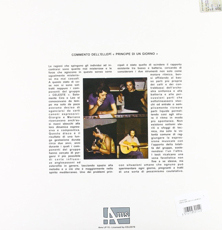 bc6dd25a530 Celeste - Principe Di Un Giorno - Amazon.com Music