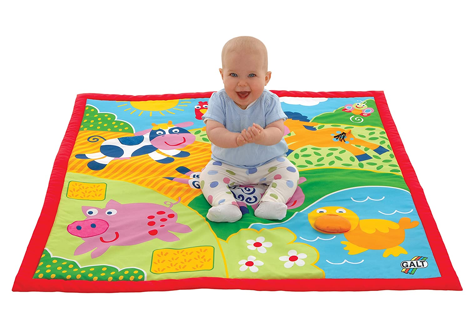 Galt Large Playmat Farm Multi-Sensory - Over 3 Feet (39
