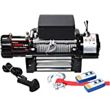 X-BULL12V Wireless Steel Cable 13000LBS/5897KGS Electric Winch for 4WD 4x4 Off Road Vehicle Boat Truck