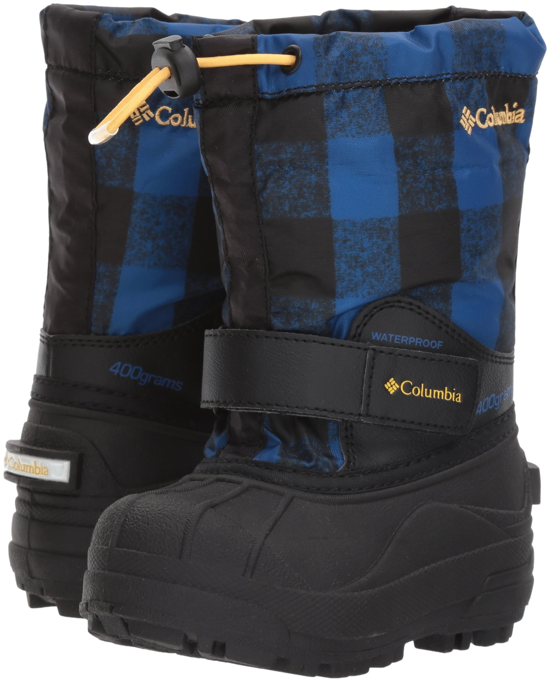 Columbia Unisex Childrens Powderbug Forty Print, Royal, Golden Nugget, 9 M US Little Kid by Columbia (Image #6)