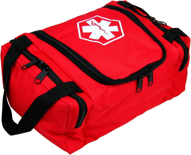 Dixie EMS Dixigear Empty First Responder II Bag - Red