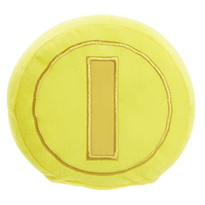 NINTENDO World of Nintendo Gold Coin Plush with Sounds: Toys & Games