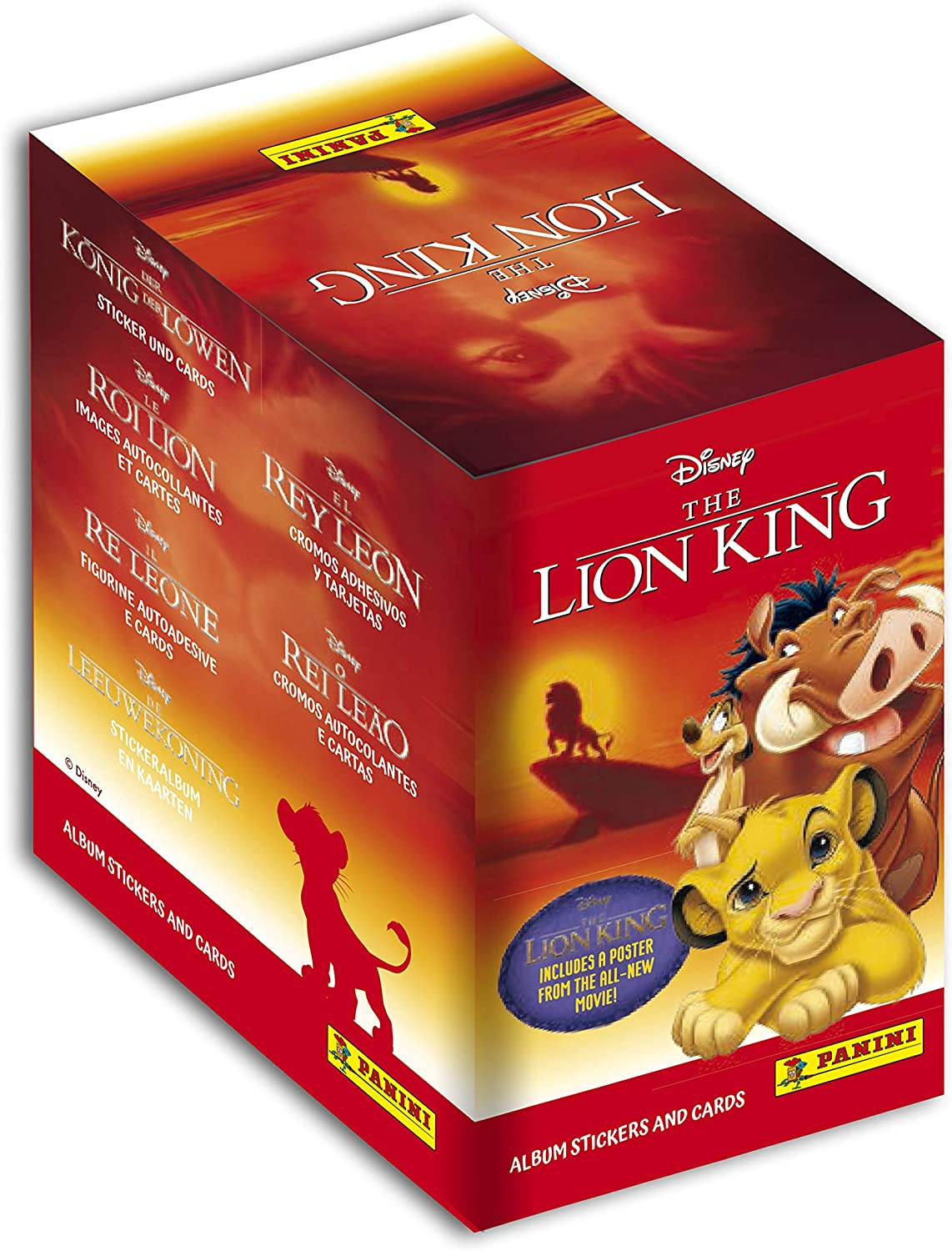 Panini Disney-Roi Lion 2019-carte 24