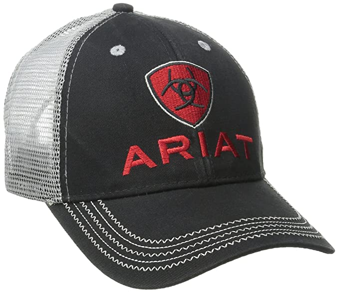 Ariat Men s Gray Mesh Hat af26974b1cd4