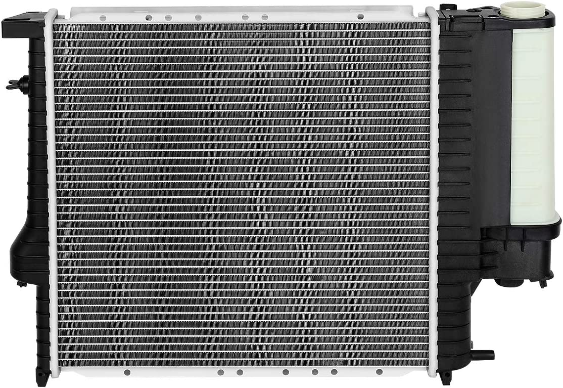 1295 Factory Style Aluminum Cooling Radiator Replacement for 91-99 318I//318TI//318IS//Z3 1.8L//1.9L AT//MT