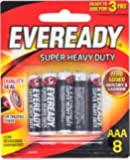Eveready Super Heavy Duty 1212BP8AAA, 8ct