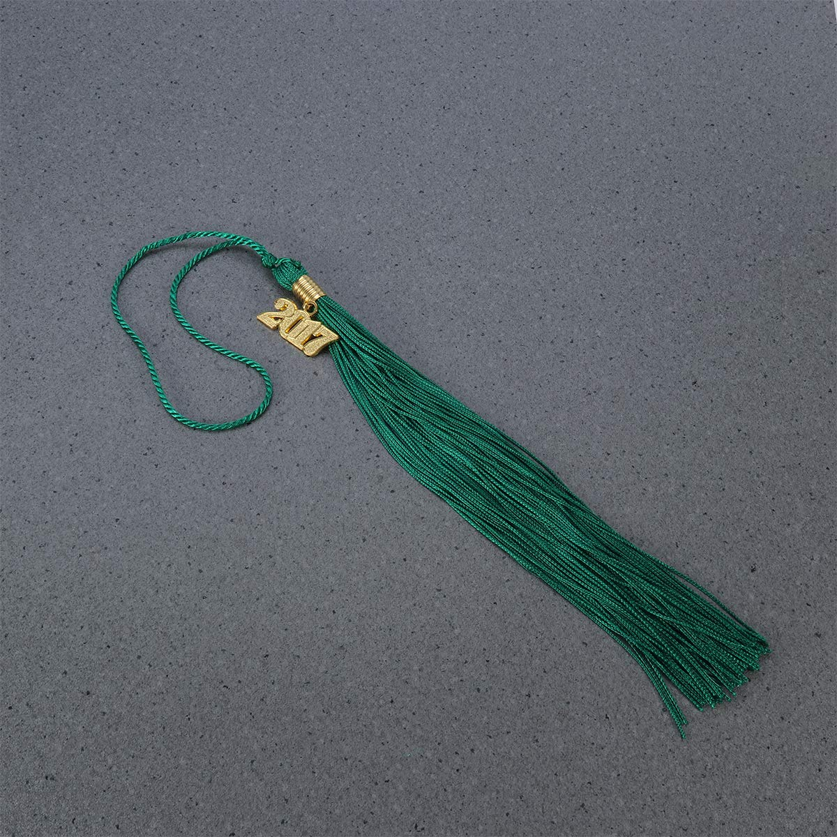 Green Academic 2017 Graduation Gown Tassels for Graduate Ceremony