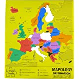 Imagimake Mapology Destination Europe Map Puzzle, Multi Color