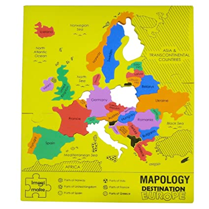 Buy imagimake mapology destination europe map puzzle multi color imagimake mapology destination europe map puzzle multi color gumiabroncs Image collections
