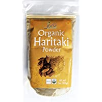 Organic Haritaki Powder 7 Ounce - 100% Pure USDA Certified Non GMO - by Jiva Organics
