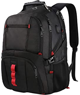 6c6d2b6a49f Extra Large Backpack,TSA Friendly Durable Travel Computer Backpack with USB  Charging Port Headphones