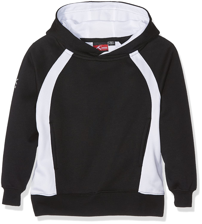 Trutex Sector Hoody, Felpa Bambino Black (Black/Scarlet) X-Large SHD-BLS-XL